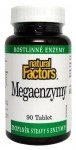 Natural Factors Megaenzymy 90 tablet