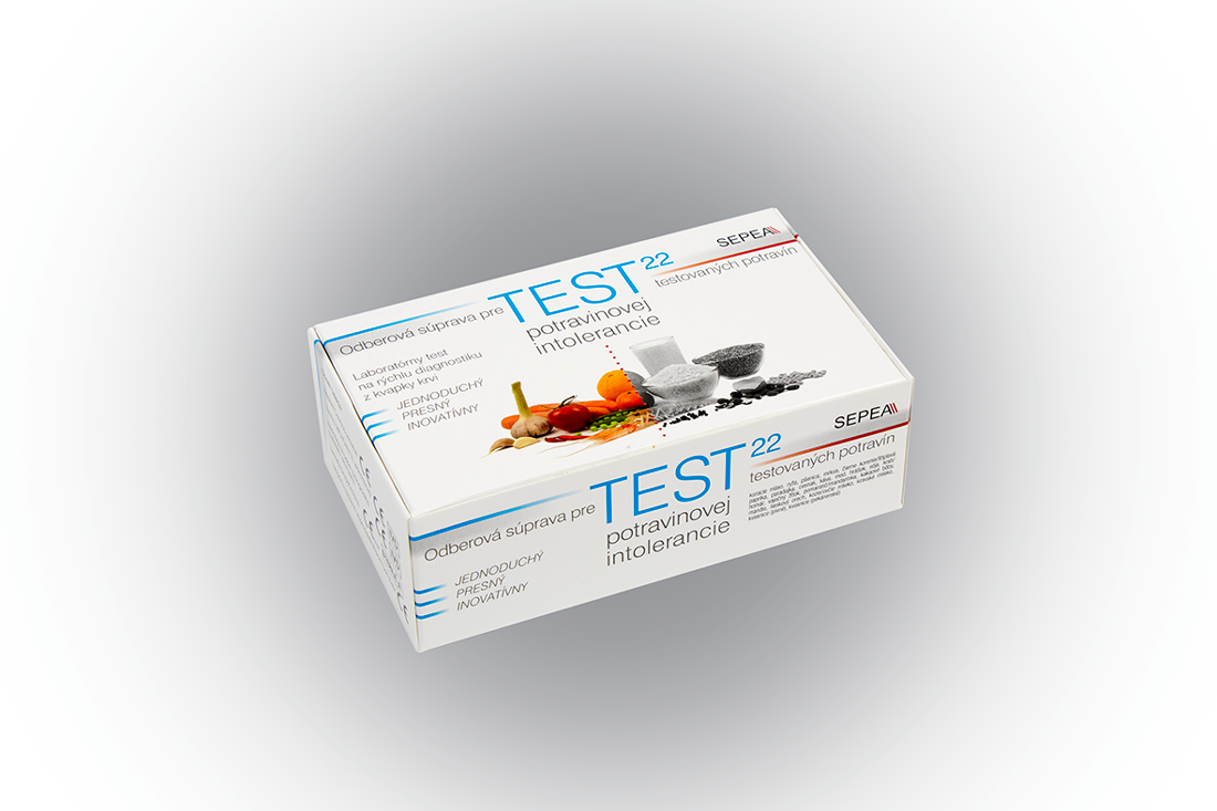 Sepea Elisa Food Screen 22 ® - test potravinové intolerance
